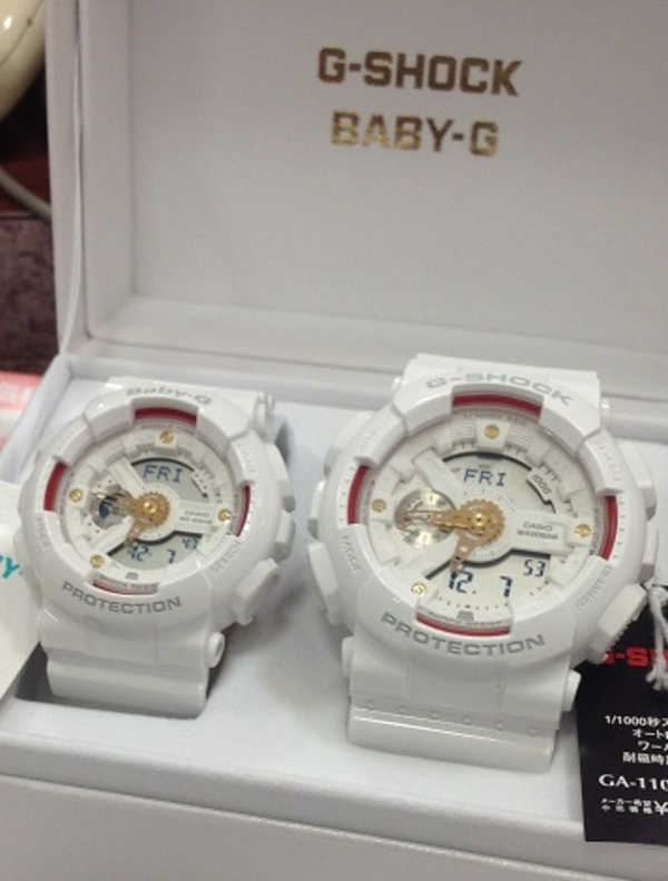 G-SHOCK & BABY-G  ペア腕時計