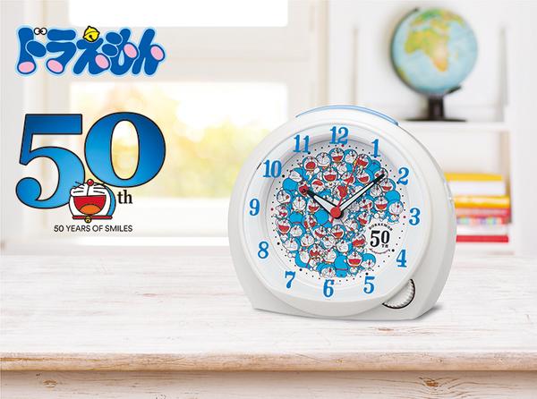 ドラえもん 50周年目覚まし時計 入荷‼!