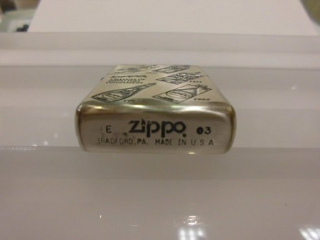 OIL-FARLY ZIPPO